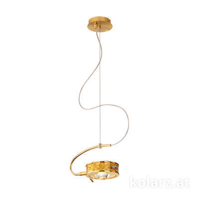 5030.30130.000/ki30 24 Carat Gold, Ø24cm, Height 20cm, Max. height 190cm, 1 light, G9