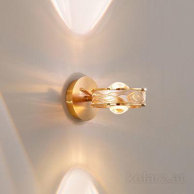5030.60130.000/aq21 24 Carat Gold, Width 14cm, Height 10cm, 1 light, G9