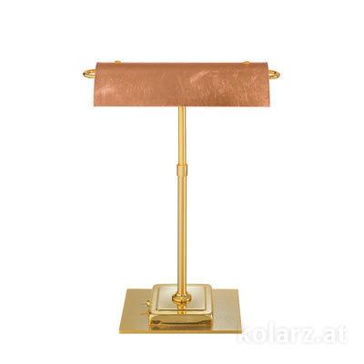 5040.70130.000/0043 24 Carat Gold, Length 30cm, Width 19cm, Height 43cm, 2 lights, G9