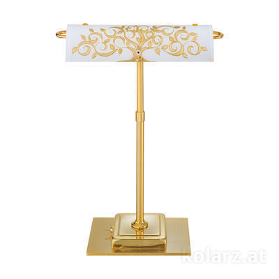 5040.70130.000/al30 24 Carat Gold, Length 30cm, Width 19cm, Height 43cm, 2 lights, G9