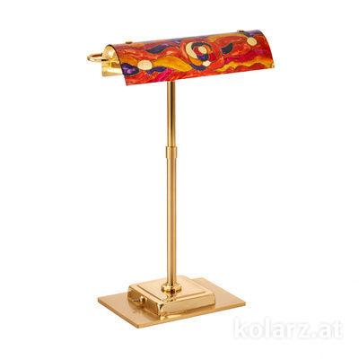 5040.70130.000/aq40 24 Carat Gold, Length 30cm, Width 19cm, Height 43cm, 2 lights, G9