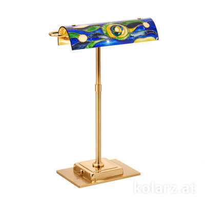 5040.70130.000/aq70 24 Carat Gold, Length 30cm, Width 19cm, Height 43cm, 2 lights, G9
