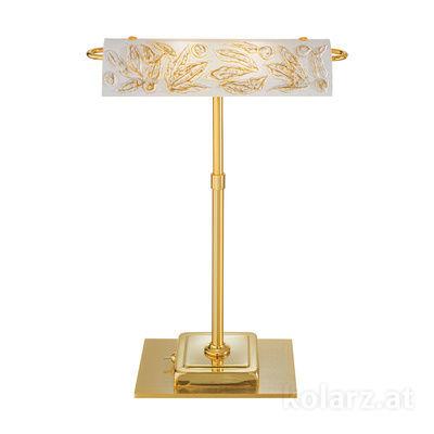 5040.70130.000/li10 24 Carat Gold, Length 30cm, Width 19cm, Height 43cm, 2 lights, G9