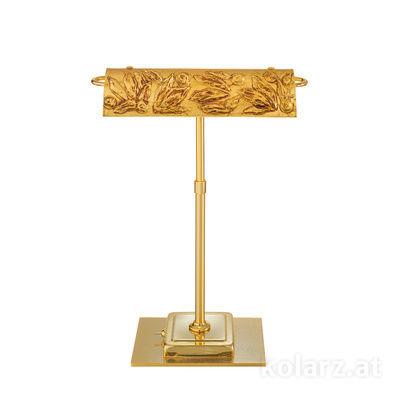 5040.70130.000/li30 24 Carat Gold, Length 30cm, Width 19cm, Height 43cm, 2 lights, G9