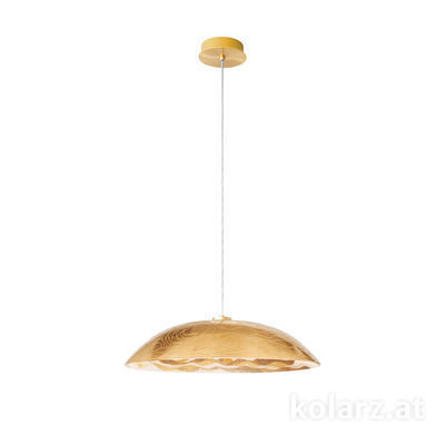 5082.30133.000/aq21 24 Carat Gold, Ø60cm, Height 22cm, Min. height 32cm, Max. height 150cm, 1 light, E27