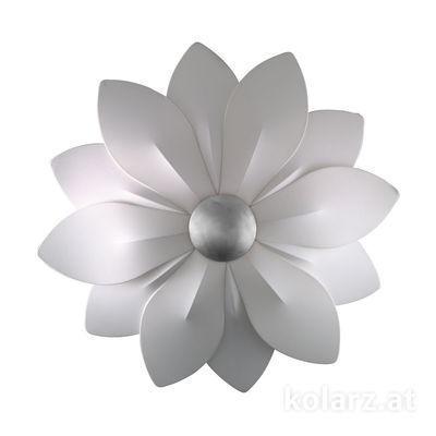 5230.60650 Silver Leaf, Ø120cm, 6 lights, E27