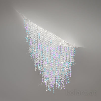 5310.10350.949 White Matt, Length 120cm, Width 40cm, Height 52cm, 3 lights, LED dimmable