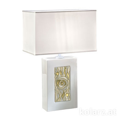 5360.70180/aq21 White, Length 32cm, Width 20cm, Height 52cm, 1 light, E27