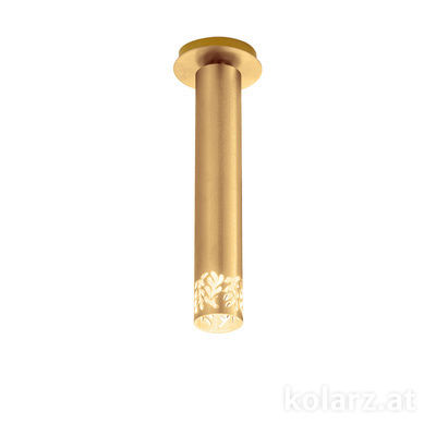 5370.10130 24 Carat Gold, Ø13cm, Height 33cm, 1 light, LED dimmable