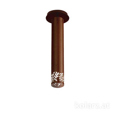 5370.10190 Corten, Ø13cm, Height 33cm, 1 light, LED dimmable