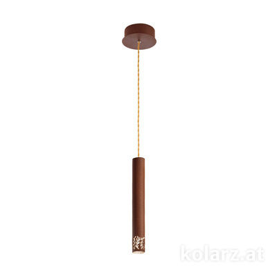 5370.30190 Corten, Ø13cm, Min. height 40cm, Max. height 180cm, 1 light, LED dimmable
