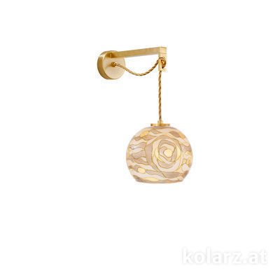 5500.60130.V005 24 Carat Gold, Ø20cm, Height 16cm, Max. height 32cm, 1 light, E27