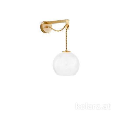 5500.60130.V024 24 Carat Gold, Ø20cm, Height 16cm, Max. height 32cm, 1 light, E27