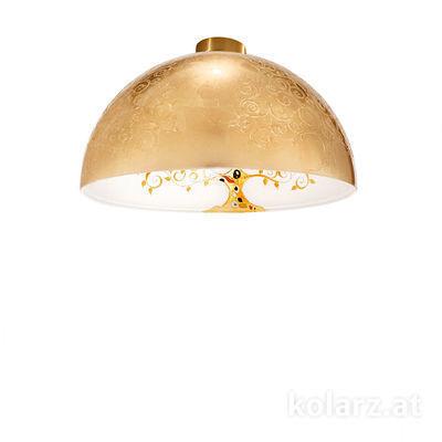 5600.10133.000/al30 24 Carat Gold, Ø40cm, Height 20.5cm, 1 light, E27