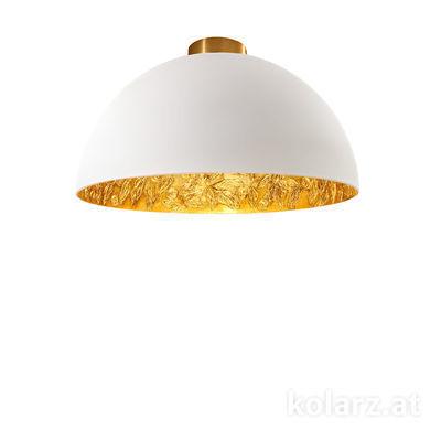 5600.10133.000/li13 24 Karat Gold, Ø40cm, Höhe 20,5cm, 1-flammig, E27