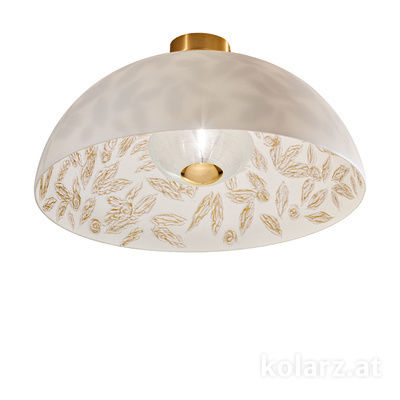 5600.10134.000/li11 24 Carat Gold, Ø50cm, Height 30cm, 1 light, E27