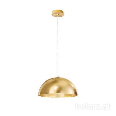 5600.30133.000/0030 24 Carat Gold, Gold, Ø40cm, Max. height 150cm, 1 light, E27