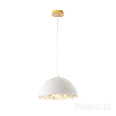 5600.30133.000/li11 24 Carat Gold, Ø40cm, Max. height 150cm, 1 light, E27