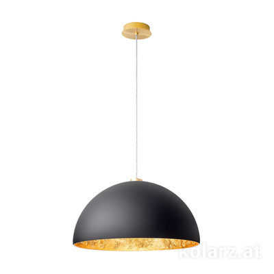 5600.30134.000/li93 24 Carat Gold, Ø50cm, Max. height 150cm, 1 light, E27