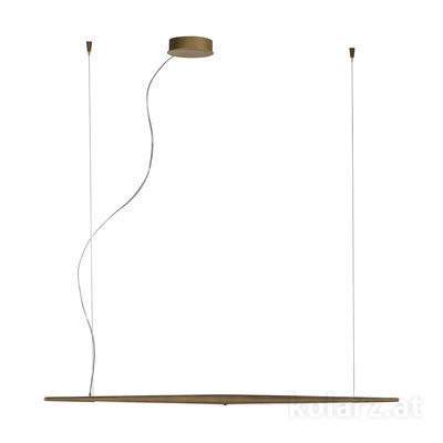 6000.30149 American Brass, Länge 125cm, Höhe 205cm, Min. Höhe 50cm, 1-flammig, LED dimmbar