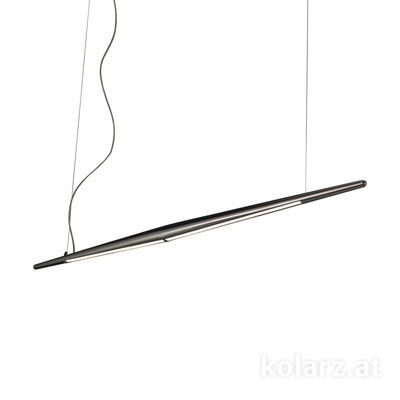 6000.30159 Dark chrom, Length 125cm, Height 205cm, Min. height 50cm, 1 light, LED dimmable