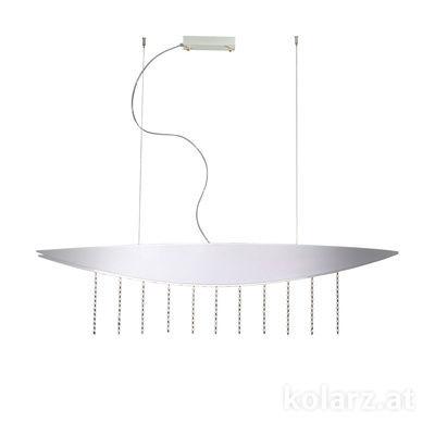 6001.30115.140 White, Length 150cm, Width 27cm, Height 250cm, Min. height 40cm, 1 light, LED