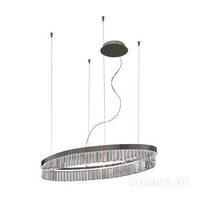 6003.30559.240 Schwarz-Chrom, 1 light, LED