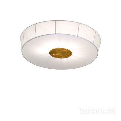 6006.10634 White, Ø100cm, Height 12cm, 6 lights, E27