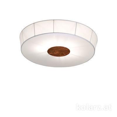 6006.10694 White, Ø100cm, Height 12cm, 6 lights, E27