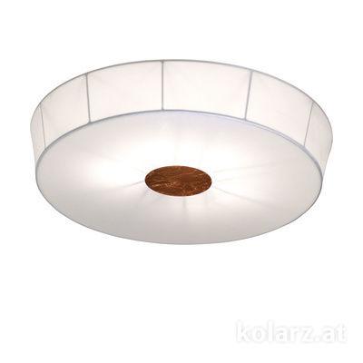 6006.10695 White, Ø100cm, Height 12cm, 6 lights, E27