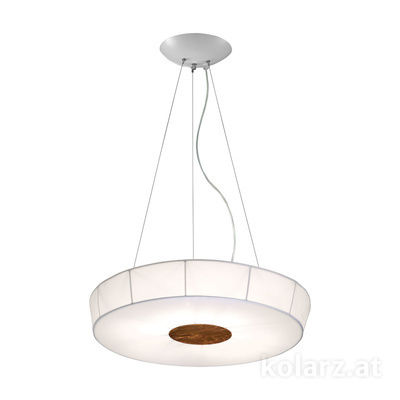 6006.30694 White, Ø70cm, Height 12cm, Max. height 200cm, 6 lights, E27