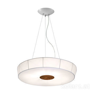 6006.30695 White, Ø100cm, Height 12cm, 6 lights, E27