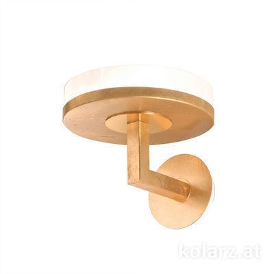 6020.60130 Gold Leaf, Width 25cm, Height 20cm, 1 light, GX53
