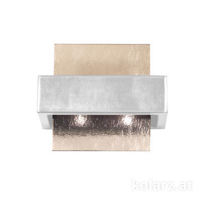6040.60251/Fm Brunito brushed, Fumé, Width 21cm, Height 17cm, 2 lights, G9