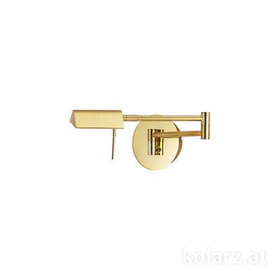 A1301.61.7 Brass, Width 29cm, Height 12cm, 1 light, LED