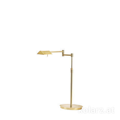 A1301.71.7 Brass, Length 53cm, Min. height 40cm, Max. height 50cm, 1 light, LED