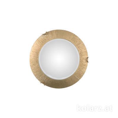 A1306.11.3.SunAu Gold, Ø30cm, Height 8cm, 1 light, E27