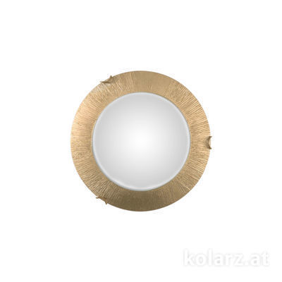 A1306.11LED.3.SunAu Gold, Ø30cm, Height 8cm, 1 light, LED