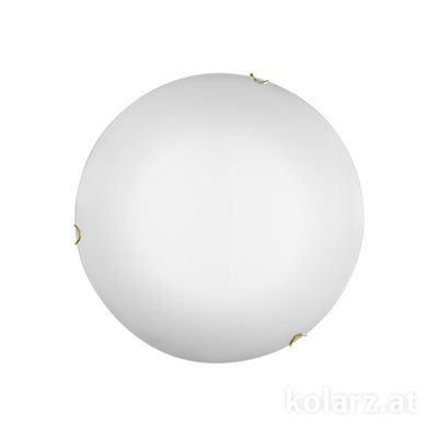 A1306.11LED.3 Gold, Ø30cm, Height 8cm, 1 light, LED