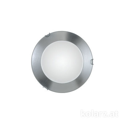 A1306.11LED.5.Ag Chrome, Ø30cm, Max. height 8cm, 1 light, LED