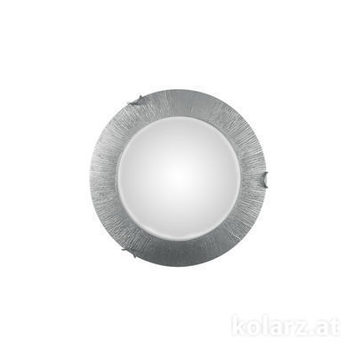 A1306.11LED.5.SunAg Silver, Ø30cm, Height 8cm, 1 light, LED