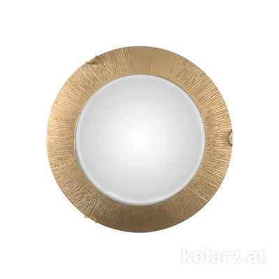 A1306.12LED.3.SunAu Gold, Ø40cm, Height 9cm, 1 light, LED