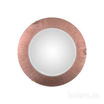 A1306.12LED.4.SunCu Antique Brass, Ø40cm, Height 9cm, 1 light, LED