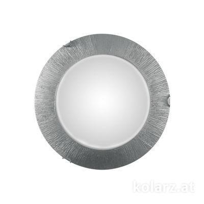 A1306.12LED.5.SunAg Gold, Ø40cm, Height 9cm, 1 light, LED