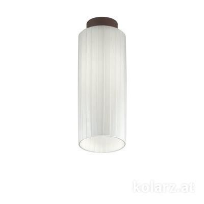 A1307.11.8.W Corten, Ø12cm, Height 34cm, 1 light, E27