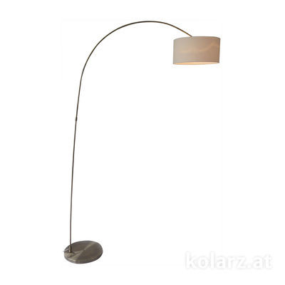 A1310.41.4 Antique Brass, Ø35cm, Height 200cm, 1 light, E27