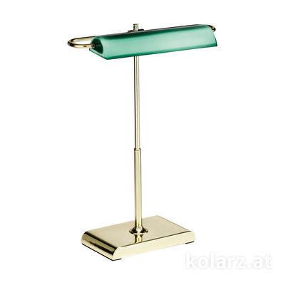A1317.71.7 24 Carat Gold, Green, Length 30cm, Width 18cm, Height 40cm, 1 light, LED