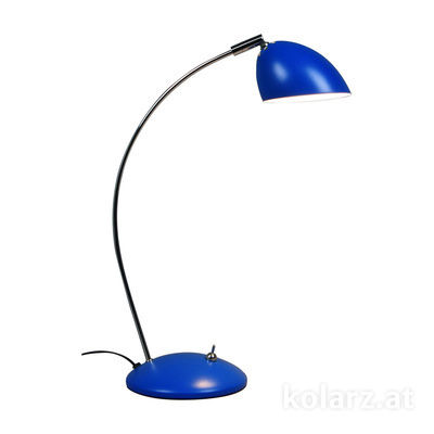 A1325.71.Bl Blue, Ø12cm, Height 38cm, 1 light, LED