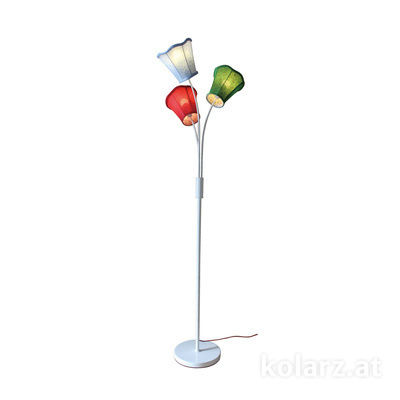 A1328.41.Multi White, Ø50cm, Height 168cm, 3 lights, E14
