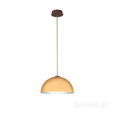 A1339.31.Co.Au/40 Gold, Ø40cm, Height 20cm, Max. height 270cm, 1 light, E27